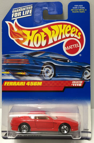 (TAS034414) - 1998 Mattel Hot Wheels Die-Cast - Ferrari 456M, , Trucks & Cars, Hot Wheels, The Angry Spider Vintage Toys & Collectibles Store  - 1