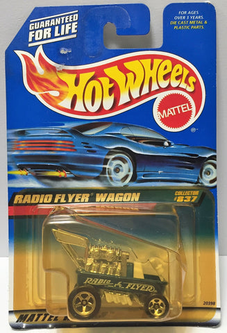 (TAS034415) - 1998 Mattel Hot Wheels Die-Cast - Radio Flyer Wagon, , Trucks & Cars, Hot Wheels, The Angry Spider Vintage Toys & Collectibles Store  - 1