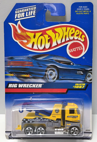 (TAS034416) - 1998 Mattel Hot Wheels Die-Cast - Rig Wrecker, , Trucks & Cars, Hot Wheels, The Angry Spider Vintage Toys & Collectibles Store  - 1