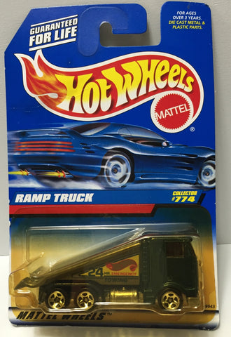 (TAS034422) - 1997 Mattel Hot Wheels Die-Cast - Ramp Truck, , Trucks & Cars, Hot Wheels, The Angry Spider Vintage Toys & Collectibles Store  - 1