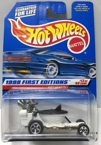 (TAS034425) - 1997 Mattel Hot Wheels Die-Cast - 1999 First Editions - Hot Seat, , Trucks & Cars, Hot Wheels, The Angry Spider Vintage Toys & Collectibles Store  - 1