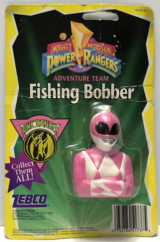 (TAS034854) - 1995 Saban Mighty Morphin Power Rangers Fishing Bobber - Pink, , Other, Saban, The Angry Spider Vintage Toys & Collectibles Store  - 1