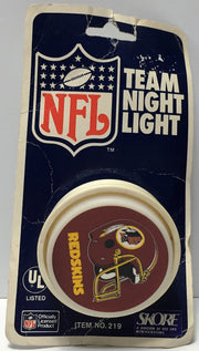(TAS034879) - Skore Vintage Team NFL Football Night Light - Washington Redskins, , Lights, NFL, The Angry Spider Vintage Toys & Collectibles Store  - 1