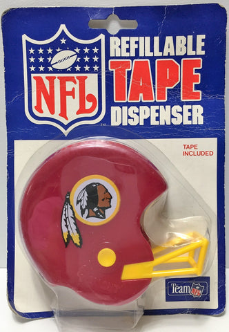 (TAS034881) - Custom Sports Team NFL Refillable Tape Dispenser - Redskins, , Other, NFL, The Angry Spider Vintage Toys & Collectibles Store  - 1