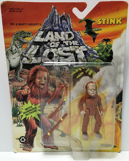 (TAS034884) - 1992 Krofft Tiger Toys Land of the Lost Action Figure - Stink, , Action Figure, Krofft, The Angry Spider Vintage Toys & Collectibles Store  - 1