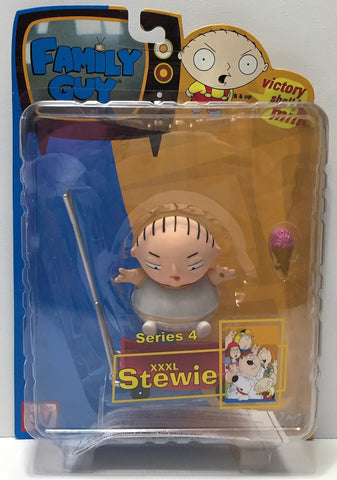 (TAS034888) - 2005 Mezco Toys Family Guy Action Figure Series 4 - XXXL Stewie, , Action Figure, Mezco, The Angry Spider Vintage Toys & Collectibles Store  - 1