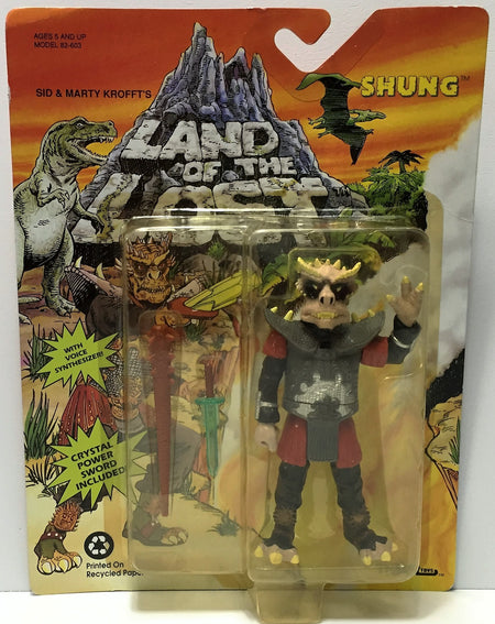 (TAS034894) - 1992 Krofft Tiger Toys Land of the Lost Action Figure - Shung, , Action Figure, Krofft, The Angry Spider Vintage Toys & Collectibles Store  - 1