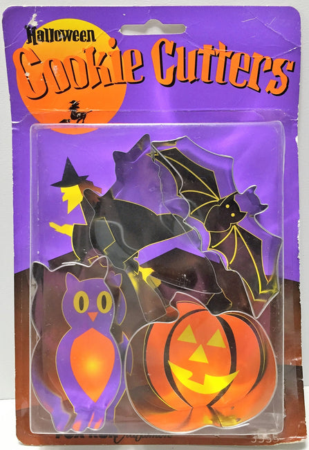 (TAS034904) - Fox Run Craftsmen Halloween Cookie Cutters - 4 Pack, , Kitchen, Fox Run, The Angry Spider Vintage Toys & Collectibles Store  - 1