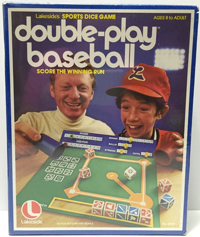 (TAS034907) - 1979 Lakeside's Sports Dice Game Double-Play Baseball, , Game, n/a, The Angry Spider Vintage Toys & Collectibles Store  - 1