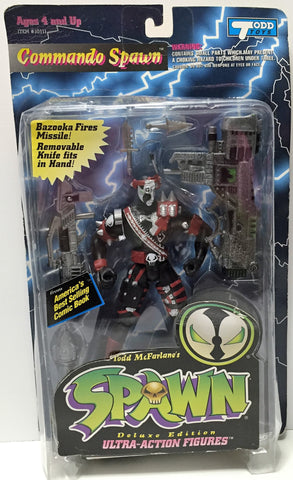 (TAS034911) - 1995 McFarlane Toys Spawn Ultra-Action Figures - Commando Spawn, , Action Figure, McFarlane Toys, The Angry Spider Vintage Toys & Collectibles Store  - 1