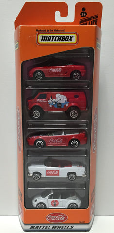 (TAS034914) - 1999 Mattel Matchbox Coca-Cola Die-Cast 5 Pack Gift Set, , Trucks & Cars, Matchbox, The Angry Spider Vintage Toys & Collectibles Store  - 1