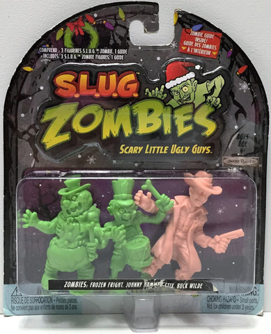 (TAS034916) - 2012 Jakks S.L.U.G. Zombies Series 3 - Fright, Johnny, Buck Wilde, , Action Figure, Jakks, The Angry Spider Vintage Toys & Collectibles Store  - 1