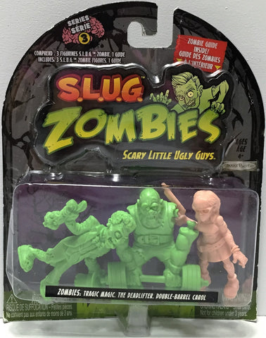 (TAS034917) - 2012 Jakks S.L.U.G. Zombies Series 3 - Magic, Deadlifter, Carol, , Action Figure, Jakks, The Angry Spider Vintage Toys & Collectibles Store  - 1