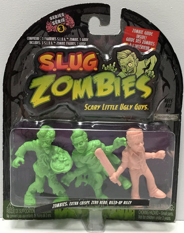 (TAS034918) - 2012 Jakks S.L.U.G. Zombies Series 3 - Crispy, Zero Hero, Riley, , Action Figure, Jakks, The Angry Spider Vintage Toys & Collectibles Store  - 1