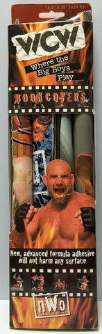 (TAS034929) - 1999 Kittrich Corporation WCW nWo Wrestling Book Covers - Goldberg, , Books, Wrestling, The Angry Spider Vintage Toys & Collectibles Store  - 1