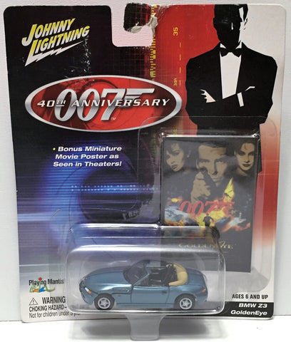 (TAS034937) - 2002 Johnny Lightning 007 BMW Z3 Goldeneye, , Trucks & Cars, Johnny Lightning, The Angry Spider Vintage Toys & Collectibles Store  - 1