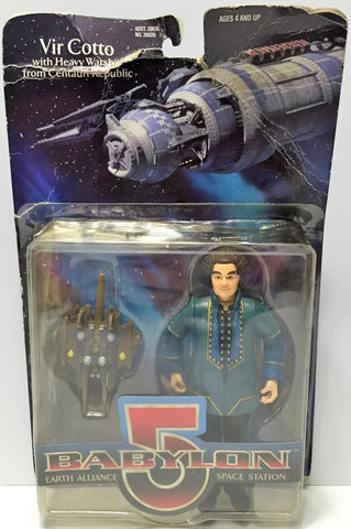 (TAS034945) - 1997 Warner Bros Babylon 5 Action Figure - Vir Cotto, , Action Figure, Warner Bros, The Angry Spider Vintage Toys & Collectibles Store  - 1