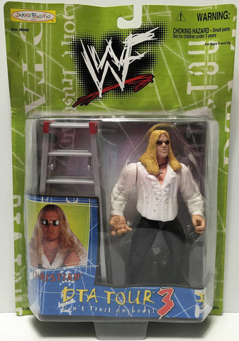 (TAS034947) - 1999 Jakks Pacific WWF DTA Tour 3 Action Figure - Christian, , Action Figure, Wrestling, The Angry Spider Vintage Toys & Collectibles Store  - 1