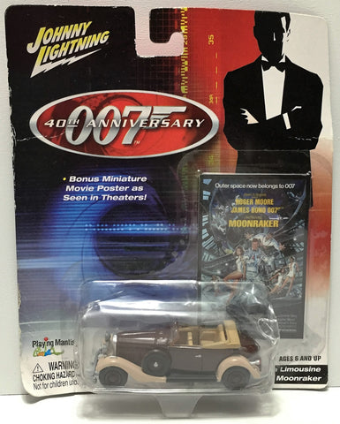 (TAS034951) - 2002 Johnny Lightning 007 Hispano-Suiza Limousine Moonraker, , Trucks & Cars, Johnny Lightning, The Angry Spider Vintage Toys & Collectibles Store  - 1