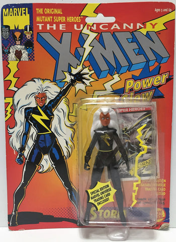 "(TAS034954) - 1991 Toy Biz The Uncanny X-Men ""Power Glow"" Action Figure - Storm, , Action Figure, X-Men, The Angry Spider Vintage Toys & Collectibles Store  - 1"