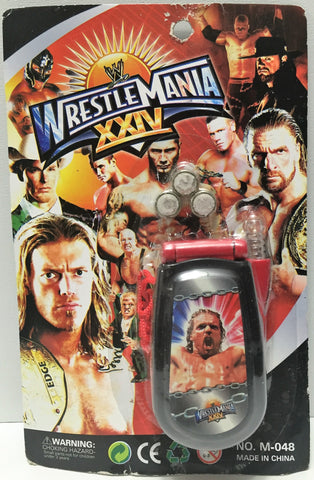 (TAS034968) - WWE Wrestle Mania XXIV Toy Cell Phone - Triple H, , Toys, Wrestling, The Angry Spider Vintage Toys & Collectibles Store  - 1