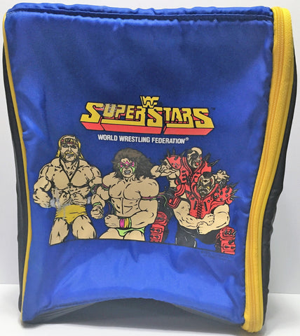 (TAS034993) - WWF Wrestling Superstars Figure Holder Backpack, , Other, Wrestling, The Angry Spider Vintage Toys & Collectibles Store  - 1