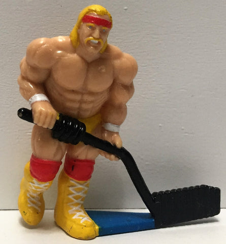 (TAS035009) - 1991 Titan Sports WWF Wrestling PVC Hockey Figure - Hulk Hogan, , Action Figure, Wrestling, The Angry Spider Vintage Toys & Collectibles Store  - 1