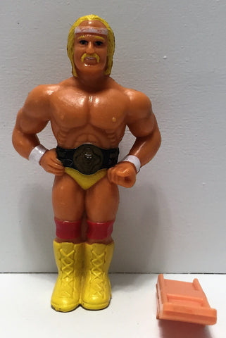 (TAS035014) - 1985 Titan Sports WWF Wrestling Clip-On - Hulk Hogan, , Clothing & Accessories, Wrestling, The Angry Spider Vintage Toys & Collectibles Store  - 1