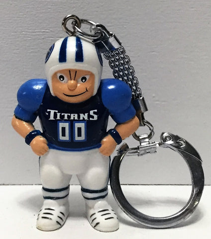 "(TAS035024) - 1987 NFL Football Sports Keychain - Titans ""Lil' Sports Brat"", , Keychain, NFL, The Angry Spider Vintage Toys & Collectibles Store  - 1"