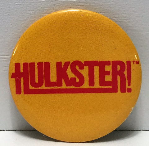 (TAS035027) - Titan Sports WCW WWF Wrestling Button - Hulkster, , Buttons, Wrestling, The Angry Spider Vintage Toys & Collectibles Store  - 1