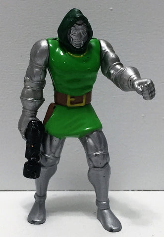 (TAS035056) - 1994 Toy Biz Marvel Steel Mutants Mini Figure - Dr. Doom, , Action Figure, X-Men, The Angry Spider Vintage Toys & Collectibles Store  - 1