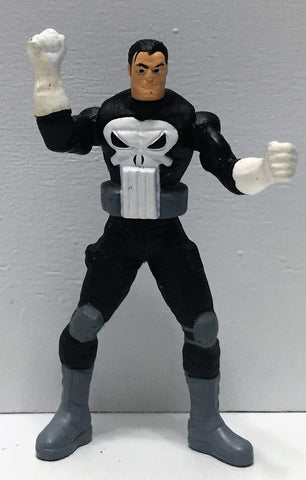 (TAS035061) - 1994 Toy Biz Marvel Steel Mutants Mini Figure - Punisher, , Action Figure, X-Men, The Angry Spider Vintage Toys & Collectibles Store  - 1