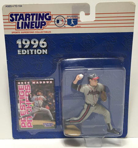 (TAS035184) - 1996 Kenner Starting Lineup Action Figure - MLB - Greg Maddux, , Action Figure, Starting Lineup, The Angry Spider Vintage Toys & Collectibles Store  - 1