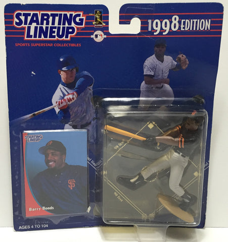 (TAS035185) - 1998 Kenner Starting Lineup Action Figure - MLB - Barry Bonds, , Action Figure, Starting Lineup, The Angry Spider Vintage Toys & Collectibles Store  - 1