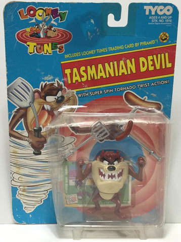 (TAS035196) - 1993 Tyco Looney Tunes Action Figure Set - Tasmanian Devil, , Action Figure, Tyco, The Angry Spider Vintage Toys & Collectibles Store  - 1