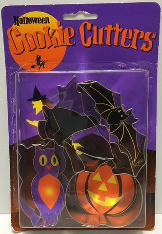 (TAS035205) - Fox Run Craftsmen Halloween Cookie Cutters - 4 pack, , Kitchen, Fox Run, The Angry Spider Vintage Toys & Collectibles Store  - 1