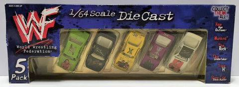 (TAS035206) - 1999 TitanSports WWF Wrestling Die-Cast Cars - HHH & Undertaker, , Action Figure, Wrestling, The Angry Spider Vintage Toys & Collectibles Store  - 1