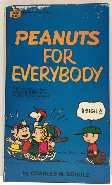 (TAS035367) - 1964 Peanuts for Everybody by Charles M. Schulz Book, , Books, Peanuts, The Angry Spider Vintage Toys & Collectibles Store  - 1