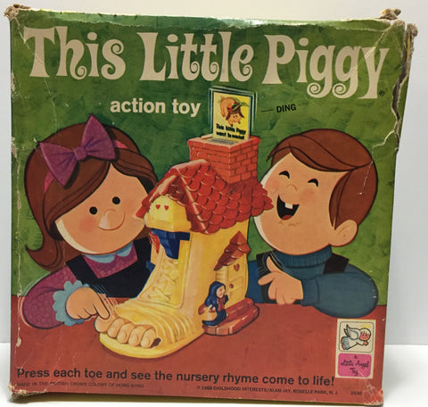 (TAS035382) - 1968 Childhood Interest This Little Piggy Action Toy, , Action Figure, n/a, The Angry Spider Vintage Toys & Collectibles Store  - 1