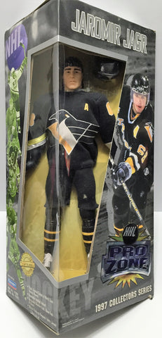 (TAS035385) - 1997 Playmates NHL Hockey Pro Zone Action Figure - Jaromir Jagr, , Action Figure, NHL, The Angry Spider Vintage Toys & Collectibles Store  - 1