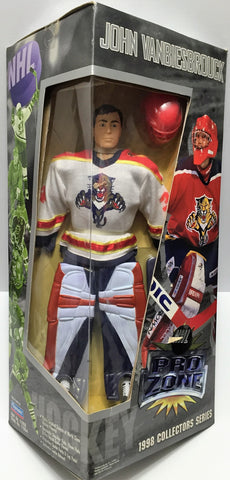 (TAS035387) - 1997 Playmates Hockey Pro Zone Action Figure - John Vanbiesbrouck, , Action Figure, NHL, The Angry Spider Vintage Toys & Collectibles Store  - 1