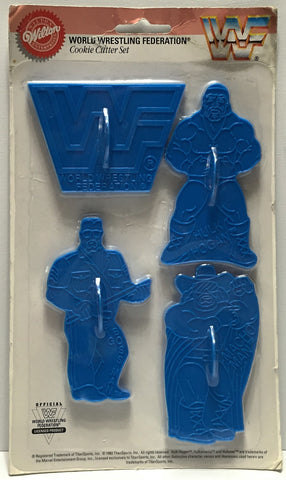 (TAS035390) - 1992 TitanSports Wilton WWF Wrestling Cookie Cutter Set, , Kitchen, Wrestling, The Angry Spider Vintage Toys & Collectibles Store  - 1