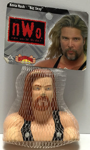 "(TAS035391) - 1999 ALPI nWo WCW Wrestling Squeezies - Kevin Nash ""Big Sexy"", , Action Figure, Wrestling, The Angry Spider Vintage Toys & Collectibles Store  - 1"