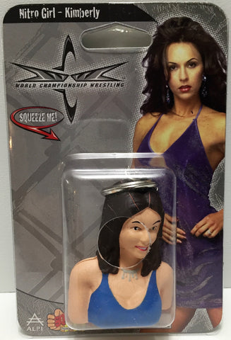 (TAS035392) - 1999 ALPI nWo WCW Wrestling Squeezies - Nitro Girl - Kimberly, , Action Figure, Wrestling, The Angry Spider Vintage Toys & Collectibles Store  - 1