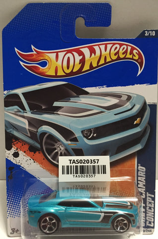 TAS025649 - Mattel Hot Wheels Die-Cast - 2010 Chevy Camaro Concept