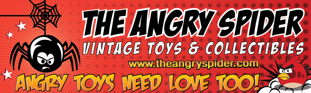 The Angry Spider Vintage Toys & Collectibles Store