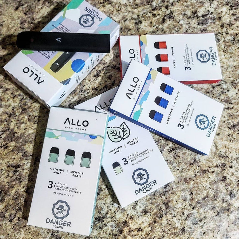 ALLO DISPOSABLE POD SYSTEM AVAILABLE!