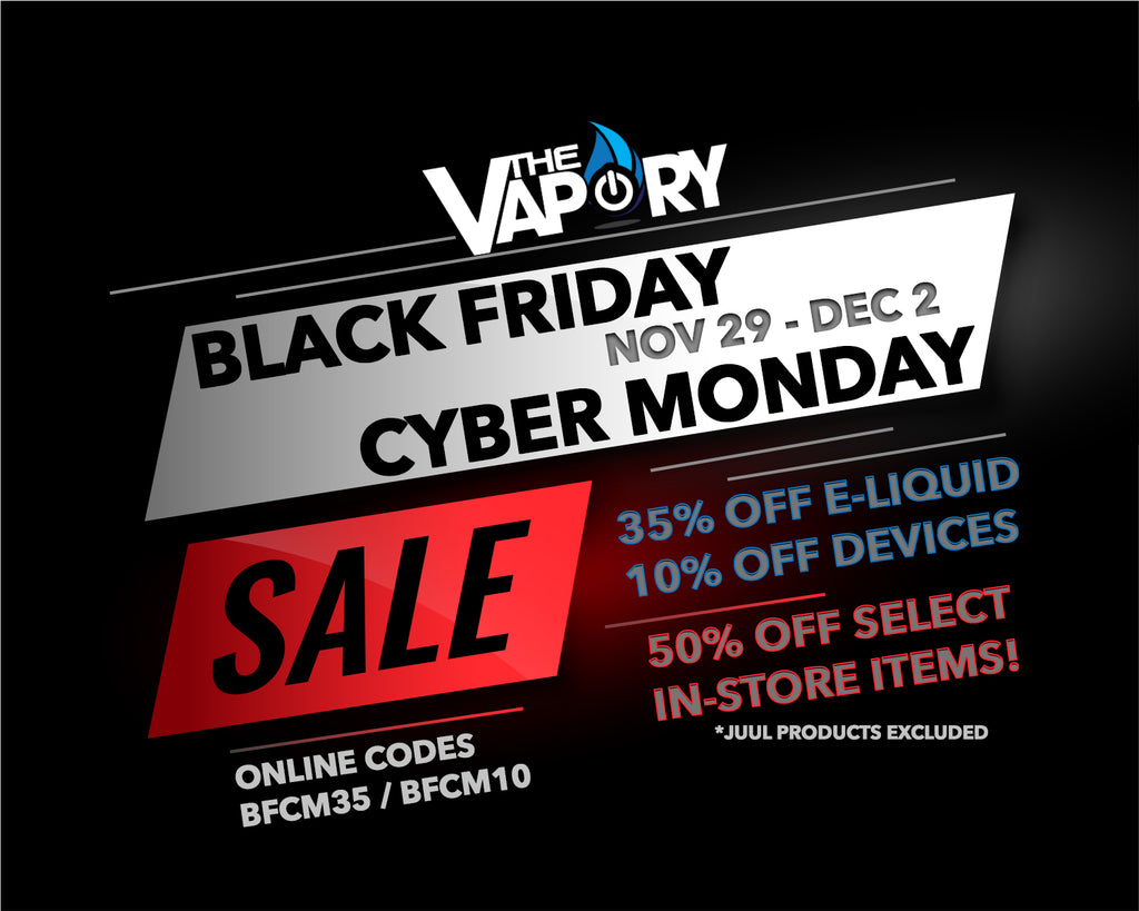 BLACK FRIDAY | CYBER MONDAY SALE NOV 29 - DEC 2!