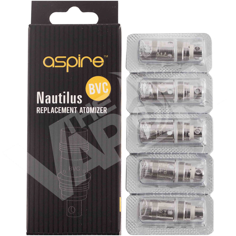 ASPIRE NAUTILUS REPLACEMENT COILS - The Vapory - www.thevapory.com - REPLACEMENT COILS