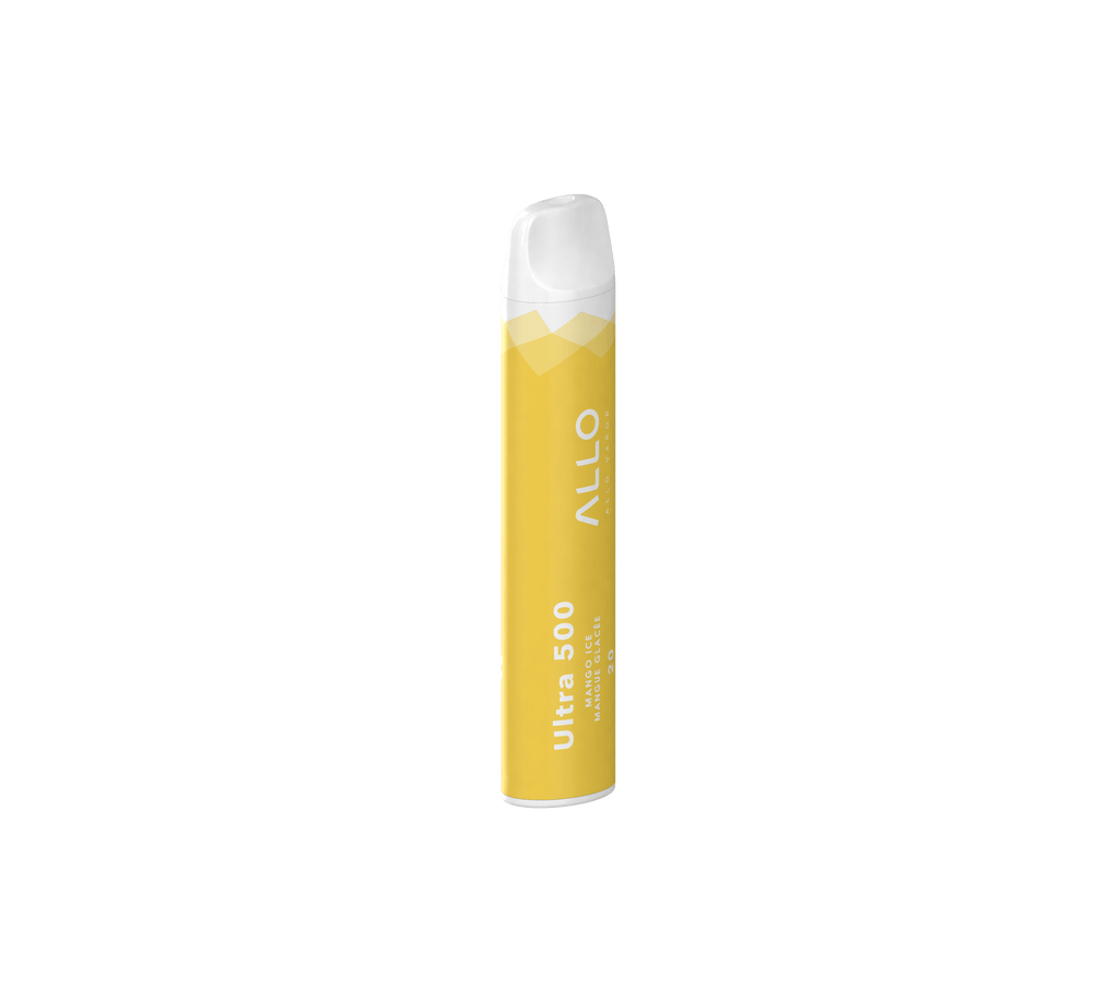 ALLO ULTRA DISPOSABLE VAPE - MANGO ICE (2ML)
